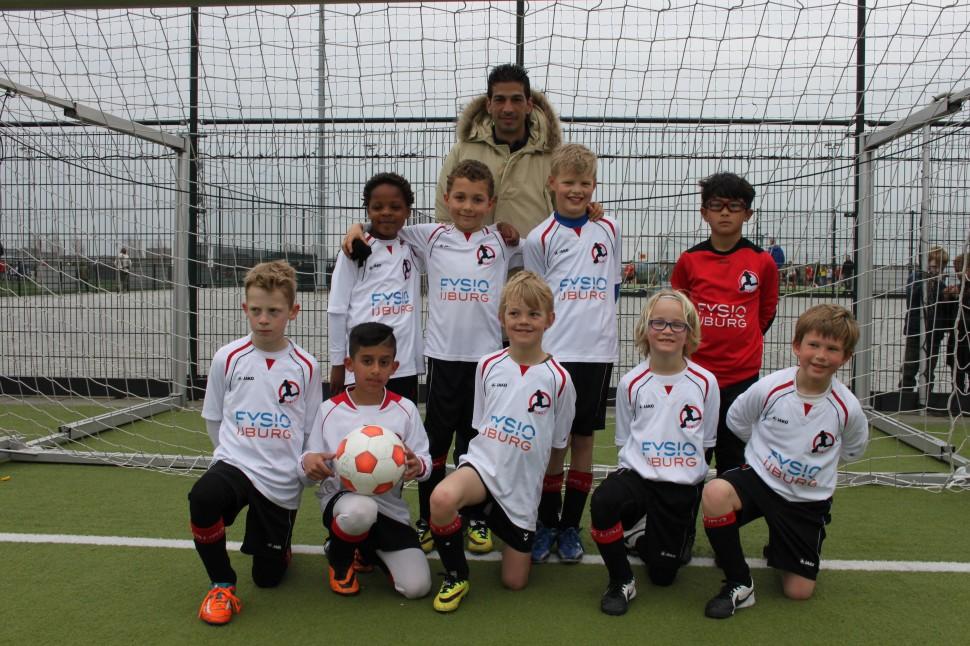 F2 voetbalteam van AFC IJburg.